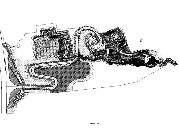 [重庆]龙湖舜山府居住区施工图设计(植物|CAD)