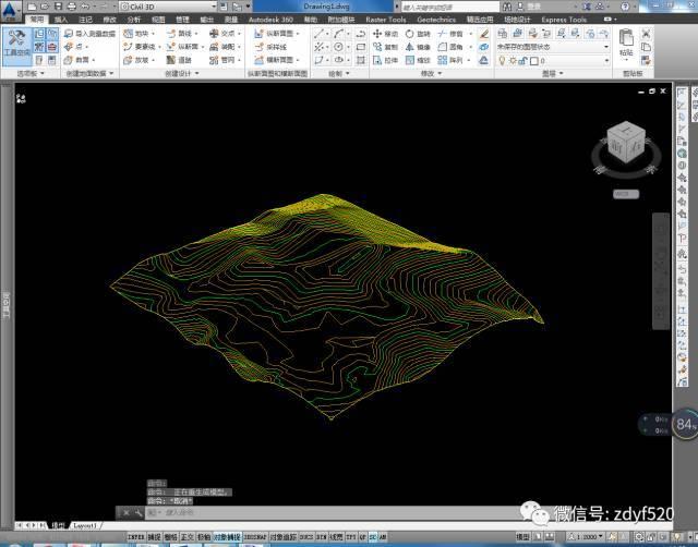 Civil3D地形導入Revit的方法