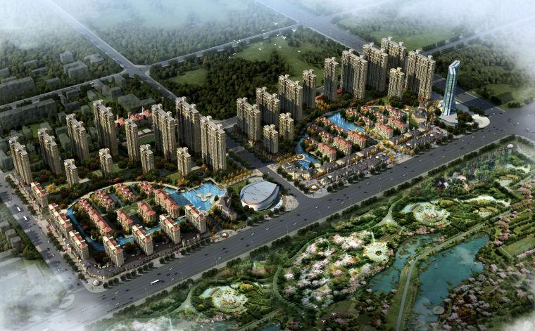 [河南]周口万达置业城南综合生态城概念规划设计方案文本