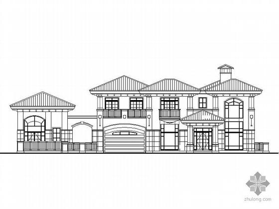 [江阴]某二层欧式别墅建筑施工图