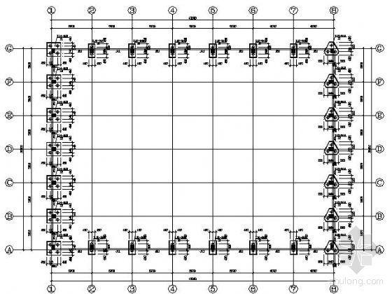 某钢桁架屋面结构图纸