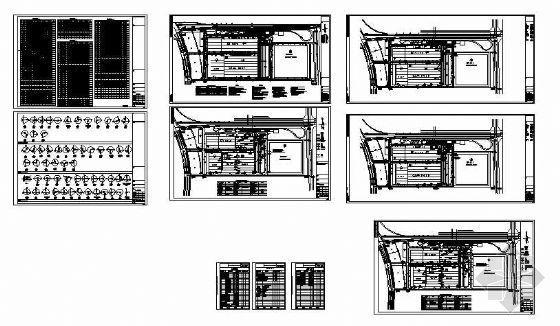保定某公司厂区给排水及燃气设计平面图