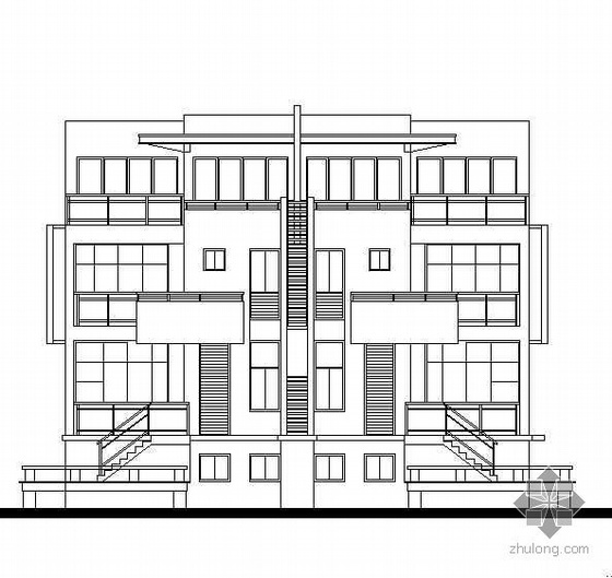 联体别墅建筑结构水电全图(也可自建房)