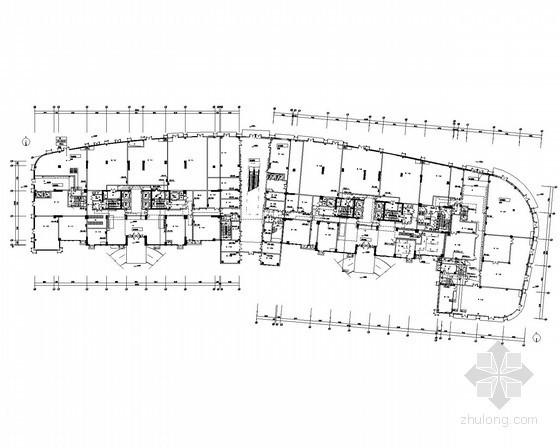 [浙江]超高层商业楼强弱电施工图220张(裙房塔楼 系统全面 甲级设计院)