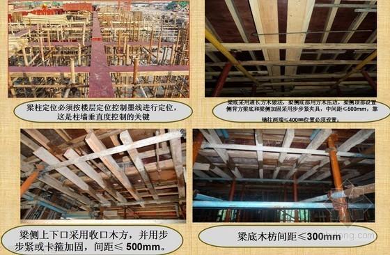 建筑工程模板施工工艺技术要点PPT讲义(图文丰富)