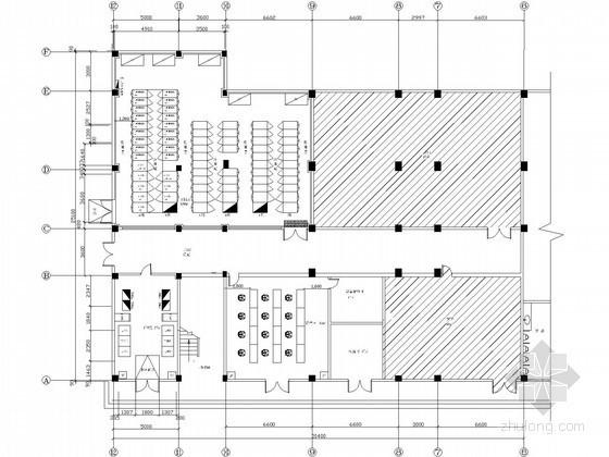 [广东]某软件公司A级数据机房全套图纸(强弱电、装饰、环境监控、消防、通风空调)