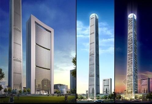 [天津]117层巨型支撑筒及巨型框架核心筒结构大型超高层结构施工图