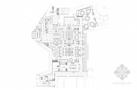 [台湾]某5星级级酒店意大利餐厅室内设计方案含效果图