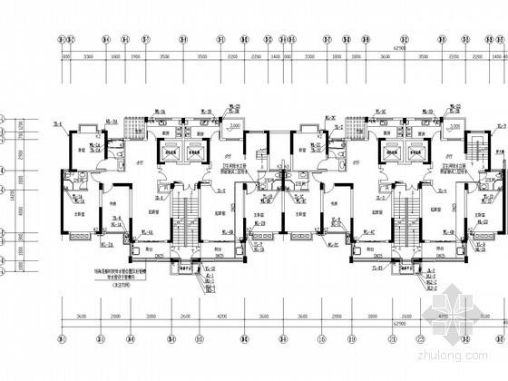 [江西]高层住宅楼及地下车库给排消防施工图