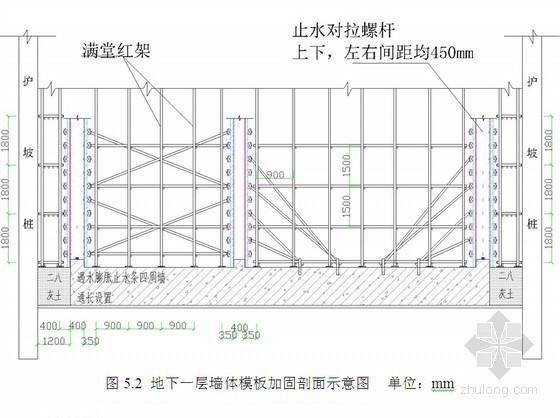 [陕西]住宅楼工程模板支撑体系施工方案