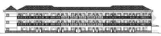 衢州市某三层养老院综合楼建筑方案图