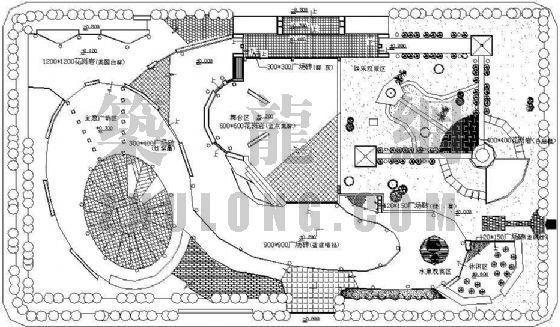外交部小广场景观设计图