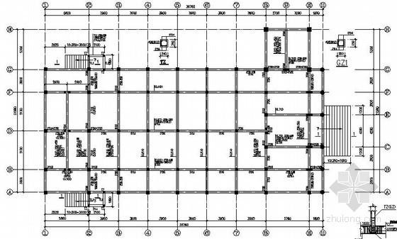 [浙江]框架结构基督教堂结构施工图