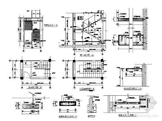 别墅楼梯详图