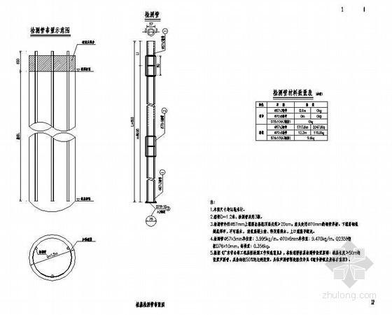 II级钢筋混凝土管参数资料下载-15m现浇钢筋混凝土连续箱梁桩基检测管布置节点详图设计