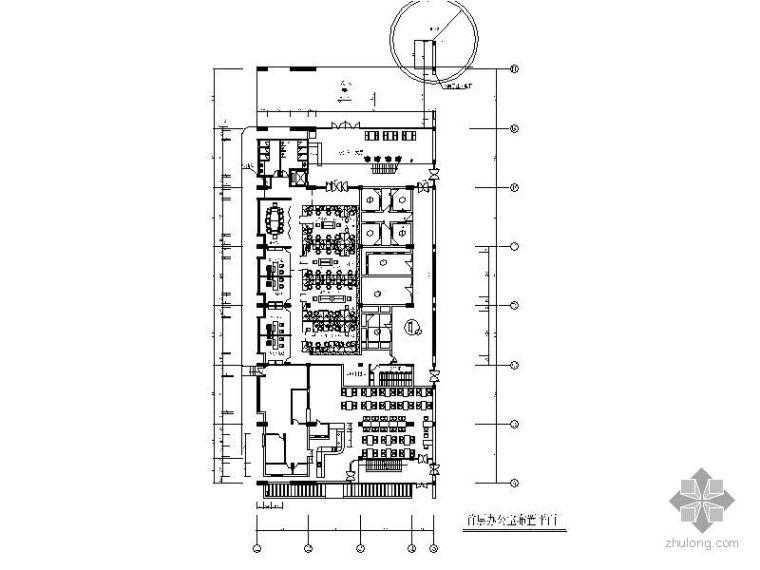 [深圳]某有限公司厂房办公空间施工图