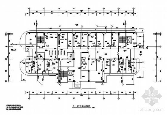 四川某综合医院给排水设计图