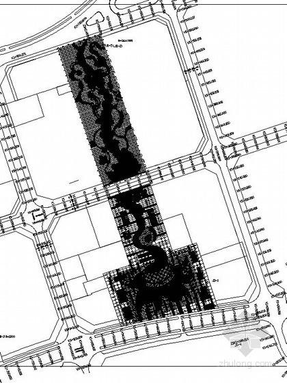 [重庆]某县城广场景观工程施工图