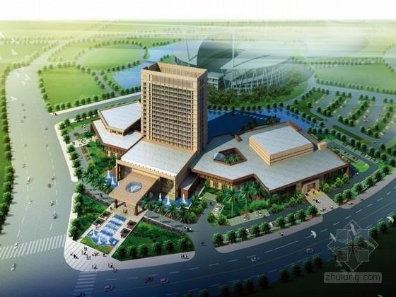 [南京]某四星级酒店建筑设计方案文本