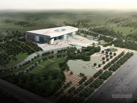 [山东]某五层大型博物馆新馆建筑方案文本