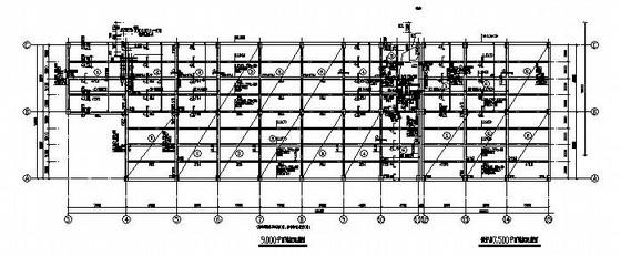 2层联合厂房框架结构施工图