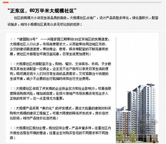 某房地产公司项目策划报告