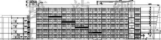某学院教学办公楼建筑施工图(全套)