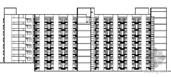 医院建筑群施工图设计资料下载-西南医院建筑楼群建筑结构施工图(主体建筑及配套用楼)