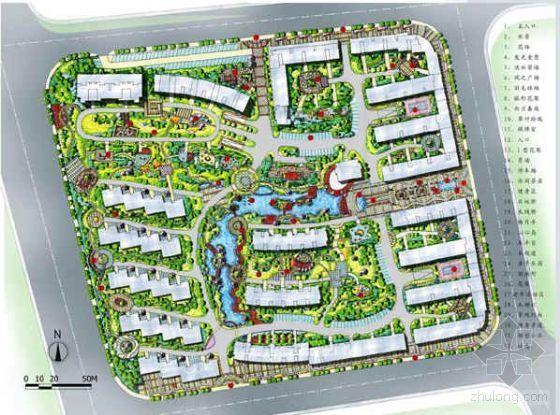 福建福州某小区景观设计方案