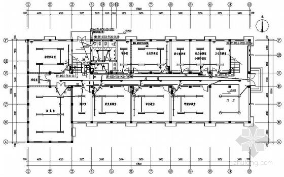 某特殊教育学校电气施工图