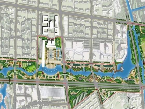 [江苏]现代滨水生态城市中央公园景观深化设计方案