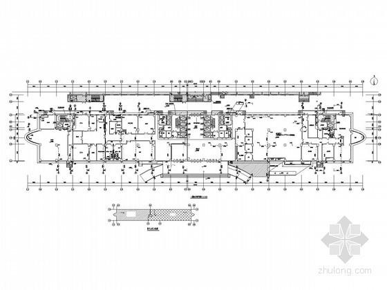 [河南]医院病房楼给排水施工图(太阳能热水 高压细水雾系统)
