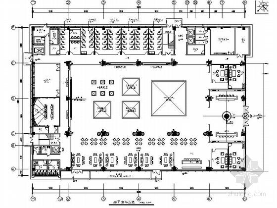 [芜湖]精品简欧风格售楼处设计装修图(含方案)