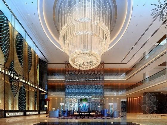 [福建]五星级豪华地域特色文化大酒店室内设计方案