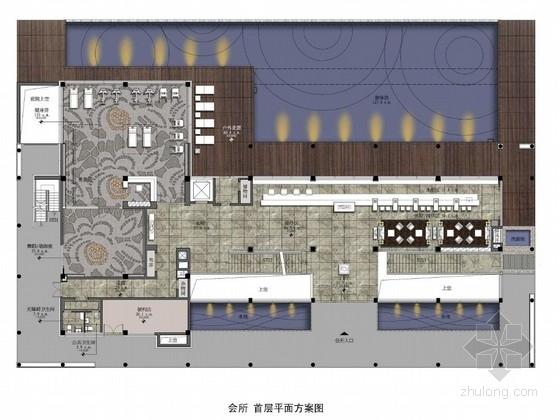 [珠海]海滨高档会所室内设计方案图