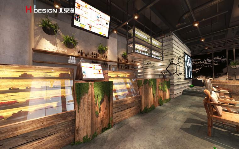 归本主义设计作品—上海漫猫咖啡馆设计案例_4