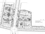 110套居住区、公园规划设计方案总平面图