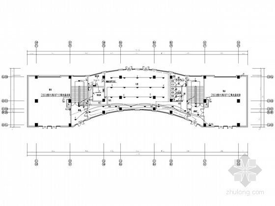 [内蒙]小区四层配套商业建筑全套电气施工图纸(含计算书)