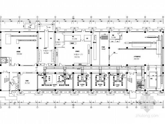 科研实验室恒温恒湿空调系统设计施工图(配电系统图)