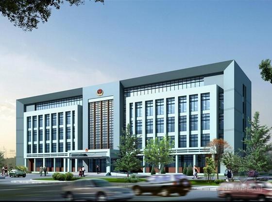 [武汉]3层框架结构办公楼钢筋工程量计算(含配套图纸)