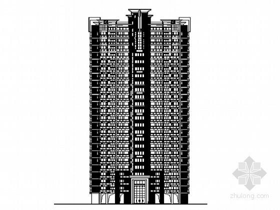 [东莞市]某镇社区农民公寓7号楼建筑施工图