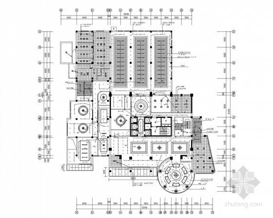 [山西]办公综合大楼精装电气全套施工图(最新)