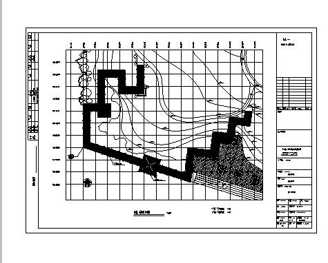 长廊施工图