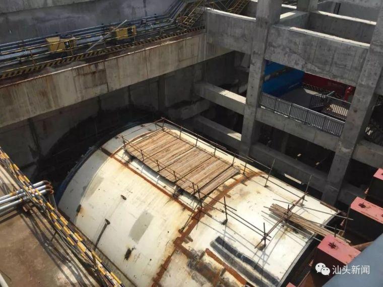 汕头海湾隧道建设稳步推进东线形成12米长主体结构_2