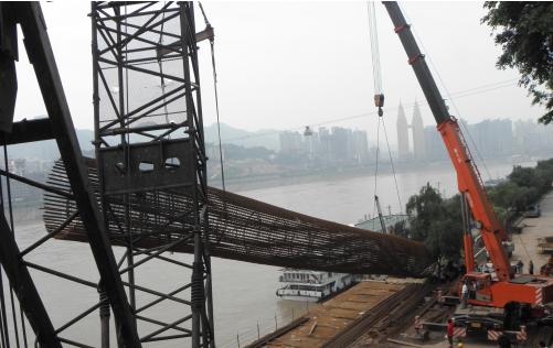 重庆市鹅公岩轨道专用桥基础工程人工挖孔桩施工方案