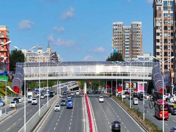 过街天桥规划设计的研究(论文)