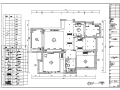 北欧风格家居二居室住宅空间设计施工图(附效果图)