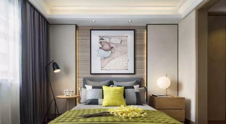 卧室背景墙别放空,这样设计美极了!
