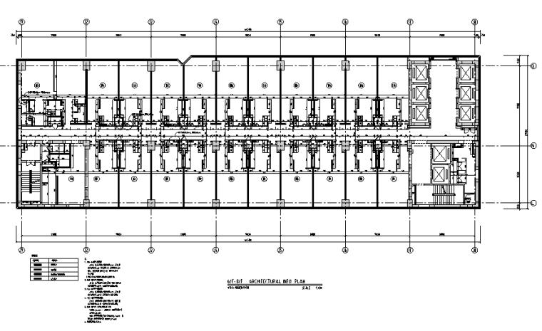 36000平米商务酒店设计施工图(附效果图+材料表)_2