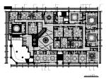 【福建】福清某大酒店中餐厅设计CAD施工图(含效果图、实景图)